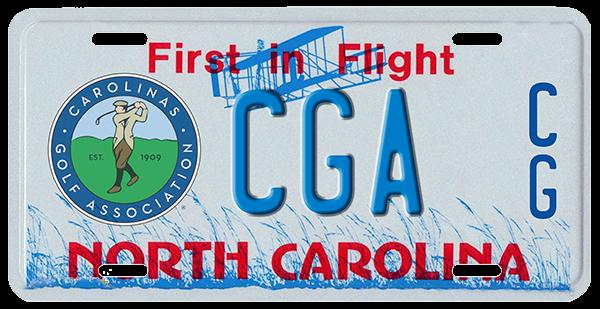 License Plate Campaign - Carolinasgolf org