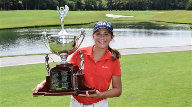 Amateur golfer sarah bertram