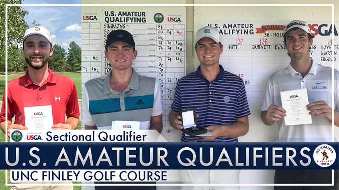 U S  Amateur Qualifying Results Finley