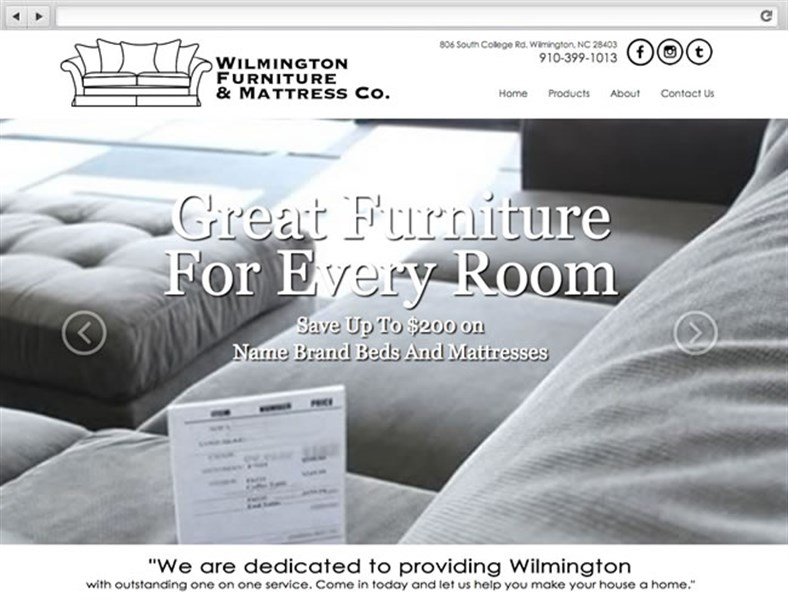 Wilmington Furniture U0026 Mattress Co