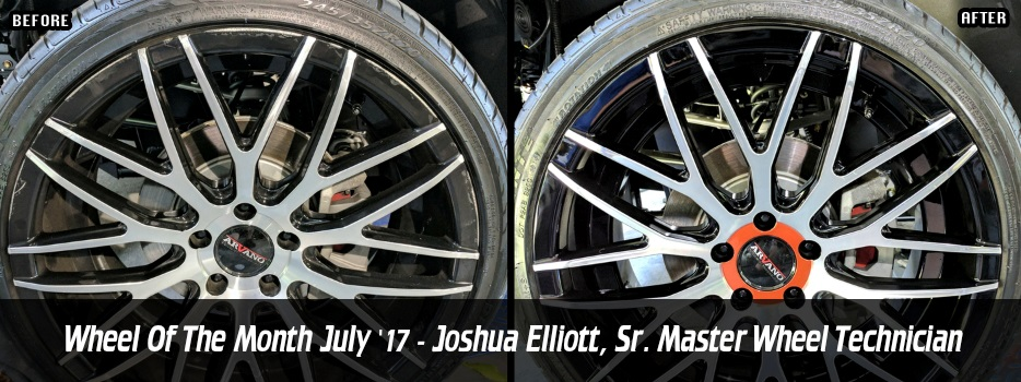 Wheel of the Month July `17 - Joshua Elliot, St. Master Wheel Technician