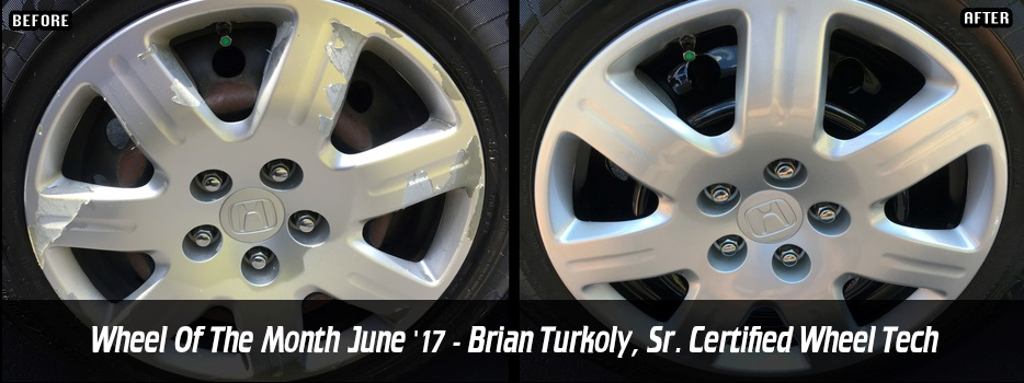 Wheel of the Month June `17 - Brian Turkoly, Sr. Certified Wheel Tech